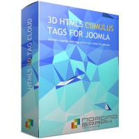 3D HTML5 Tag Cloud module for Joomla Articles